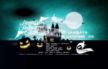 Halloweenfest på Draculas Slott