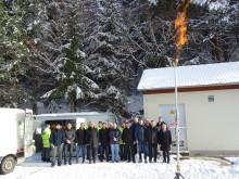 """Erste Flamme"" in Neuhaus an der Pegnitz"