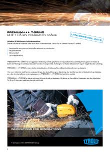 Produktinfo Tyrolit T-GRIND skrubeskive