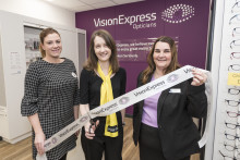 Charity ambassador's battle with rare eye disease revealed during launch of Vision Express' new optical store at Tesco in Walsall