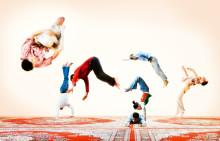 Färgstark marockansk cirkus för hela familjen!