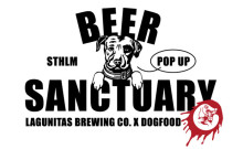 Lagunitas öppnar ölbar pop up på restaurang Dogfood