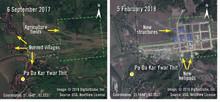 Burma: Militären tar över mark där folkgruppen rohingyas bodde - bygger baser där byar har bränts ner