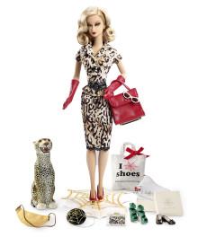 Barbie und Charlotte Olympia präsentieren die Charlotte Olympia Barbie-Puppe