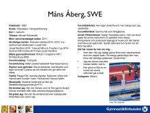 Fakta om Måns Åberg