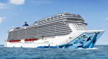 Norwegian Cruise Line reveals Wyland's visionary hull artwork for Norwegian Bliss