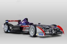 DS PERFORMANCE ny avdelning för motorsport. DS Virgin Racing visar första fotona på Formel E-bilen DSV-01