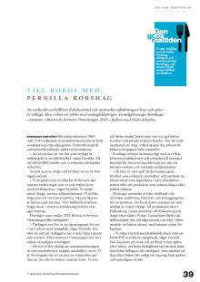 Martin & Serveras Års- & hållbarhetsberättelse 2015 (utdrag)