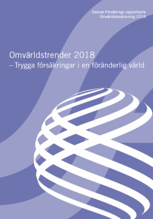 Omvärldstrender 2018 - Trygga försäkringar i en föränderlig värld