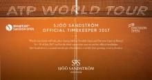 Sjöö Sandström - Official Timekeeper för Skistar Swedish Open & Ericsson Open i Båstad 2017