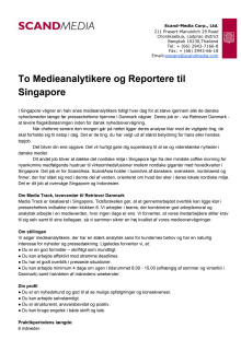 Praktikopslag Singapore