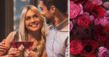 8 av 10 singlar vill dejta på Alla hjärtans dag