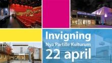 Stor nyinvigning av Partille Kulturum