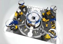 Presskonferens med Volvo Construction Equipment på CONEXPO 2014  i Las Vegas
