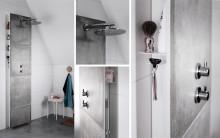 En helt ny produktkategori for baderommet: Blandebatteriveggen Front fra INR