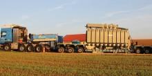 60 Tonnen schwer und mit der Energie von 20.000 Heizlüftern