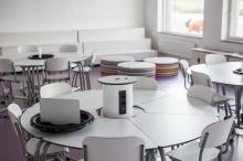 Flexibla miljöer när Lekolar inreder nybyggda Gustavslundsskolan i Helsingborg