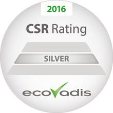 Silvermedalj till DENIOS i EcoVadis globala CSR-mätning