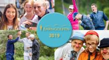 Snart går startskottet för Barngolfen 2019