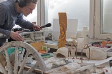 Pressinbjudan: Konstverk om romska erfarenheter installeras av Knutte Wester på Göteborgs stadsmuseum