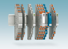 Space-saving surge protection