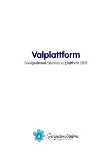 Valplattform 2018