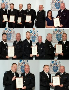 Met officers and staff honoured for going above and beyond to protect the public