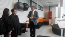 Kinesisk delegation på besök