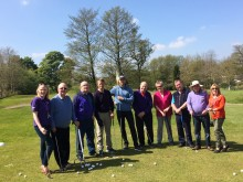 ​Stroke survivors tee off in Blackburn