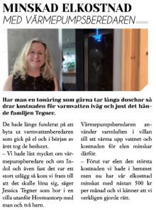Hemma hos reportage i Nytt Boende