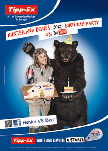 The Hunter and the Bear from Tipp-Ex® er tilbage!