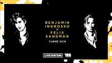 Benjamin Ingrosso och Felix Sandman till Linköping Konsert & Kongress