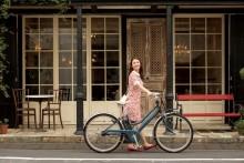 「PAS Mina」2018年モデルを発売 北欧テイストデザインのファッショナブルな電動アシスト自転車