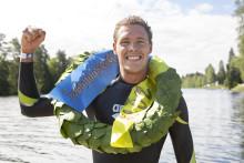 Nytt banrekord under Vansbrosimningen