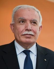 "Palestinas utrikesminister talar om ""Palestine on the road to independence"""