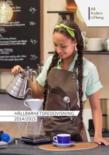 Hållbarhetsredovisning 2014/2015