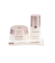 Giorgio Armani Prima: Edistyksellistä ihonhoitoa, kestävämpi ja heleämpi meikki
