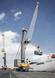 Proplate levererar sina första svetsade stag till ny tysk storkund