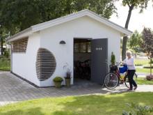 Romslig sykkeloppbevaring - Inspirert