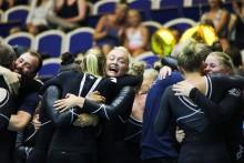 Motus-Salto, GF Örebro och Brommagymnasterna vinner SM i truppgymnastik