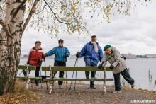 Ulkoilu edistää iäkkäiden terveyttä myös syksyllä