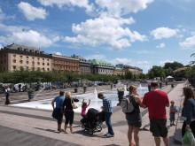 Påminnelse. Paneldebatt: Vad vill vi med Kungsträdgården? 4 maj.