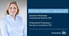 ISS talar om medarbetarengagemang på IFMA Nordic Workplace