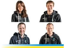Här är truppen som representera Sverige vid paracykel VM