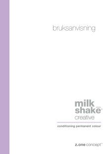 MilkShake permanent color färgmanual