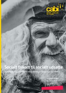 Inspirationskatalog: Socialt frikort til socialt udsatte