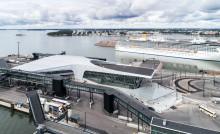 Tikkurilan pinnoitteet suojaavat palkittua Länsisataman matkustajaterminaalia