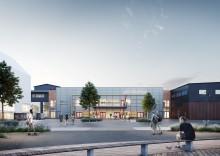 Ny arena och vernissage i Mölnlycke Fabriker