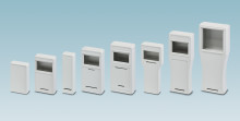 Handheld housings for mobile operator panels