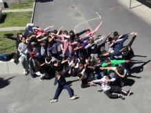 Årskurs 5 på Nytorpsskolan får hedersomnämnande av Liseberg